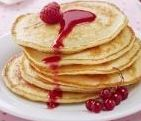 pancake au lait concentré sucré
