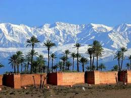 marrakech neige